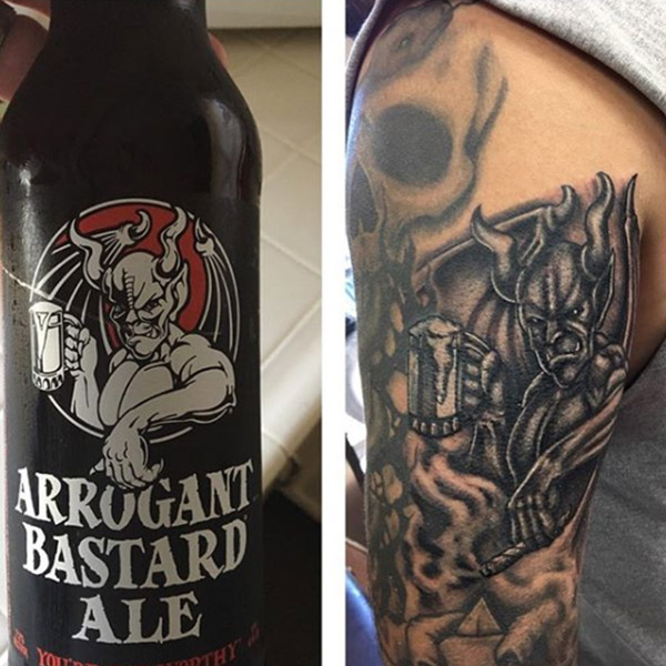 Arrogant bastard tattoo