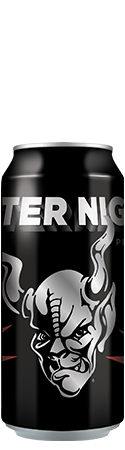 Enter Night Pilsner can