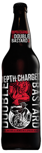 Depth-Charged Double Bastard Ale bottle