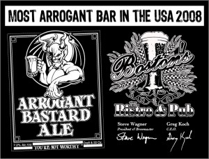 Most Arrogant Bar in the USA 2008